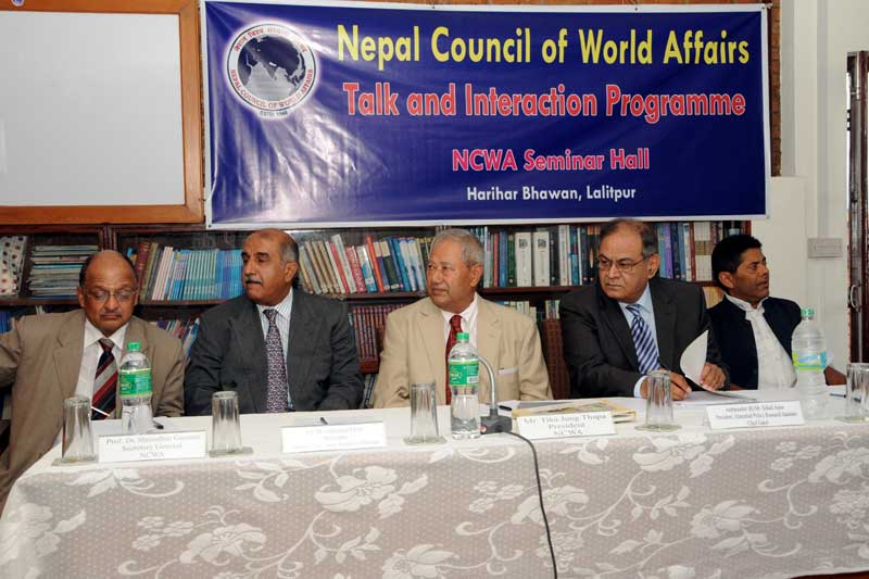 Nepal Pakistan Relatoins in the Changing Regional Scenario